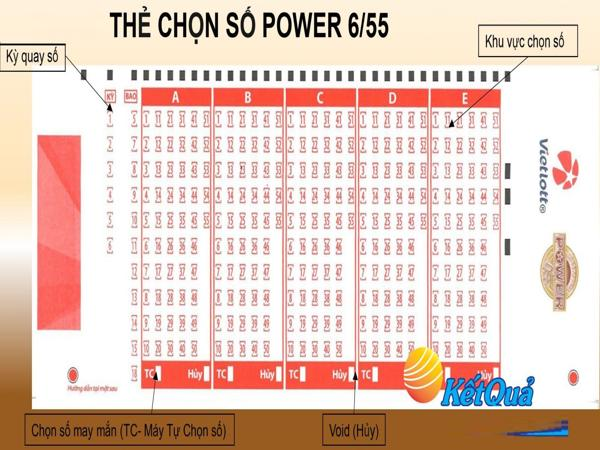 Cách chơi Power 655