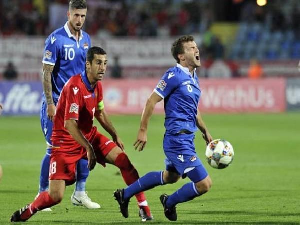 Soi kèo bóng đá Armenia vs Liechtenstein, 2h45 ngày 26/3