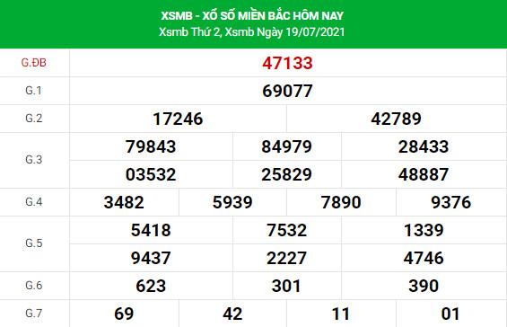 Soi cầu dự đoán XSMB 20/7/2021 Vip chính xác nhất